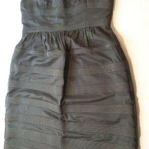J. CREW Womens NEW Charcoal Gray Rugby Stripe 4